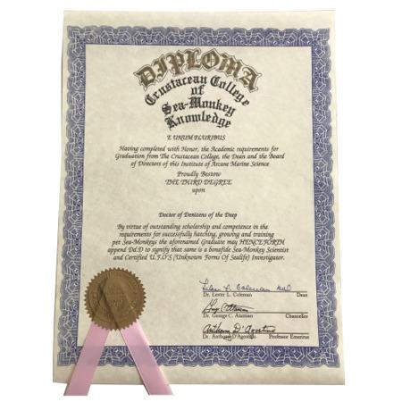 Crustacean College Diploma