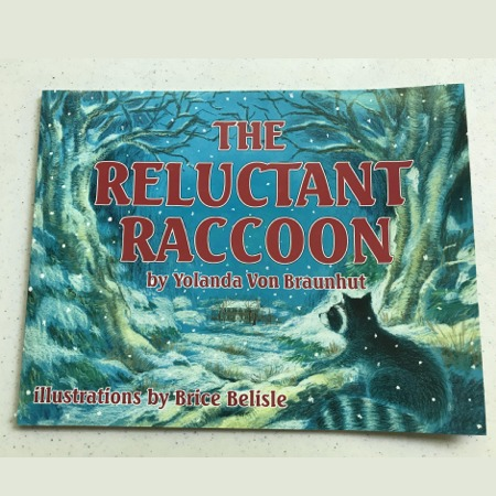 """Reluctant Raccoon"" Book"