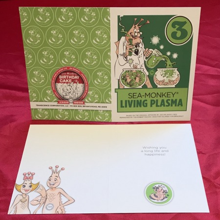 Greeting Card - Living Plasma