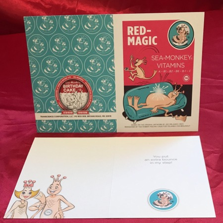 Greeting Card - Red Magic